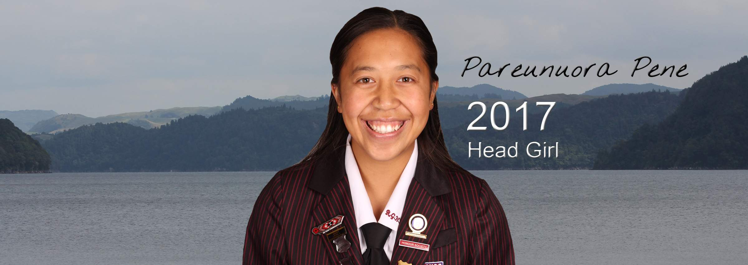 2017 HEAD GIRL BANNER Pare